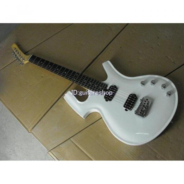 Custom Shop Unique White Fly Mojo Electric Guitar #2 image