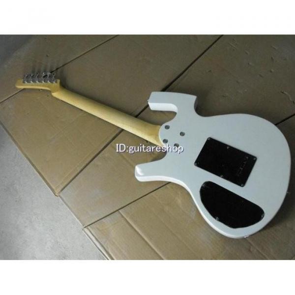 Custom Shop Unique White Fly Mojo Electric Guitar #4 image