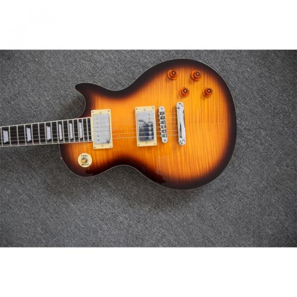 Custom Shop Tobacco Sunset Maple Top Standard Electric Guitar #4 image