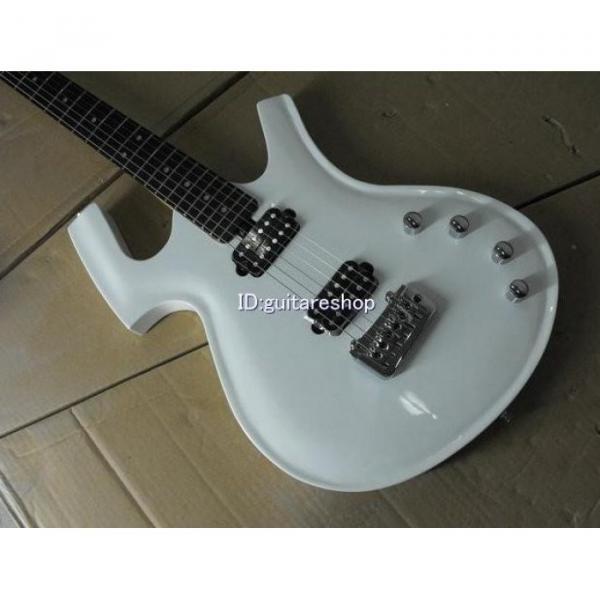 Custom Shop Unique White Fly Mojo Electric Guitar #5 image