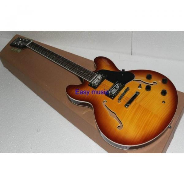 Custom Shop Sunburst ES335 LP Electric Guitar #3 image