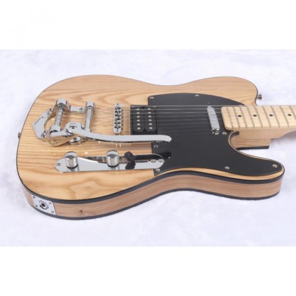 Custom Shop Telecaster Floyd Rose Tremolo Natural Electric Guitar #1 image