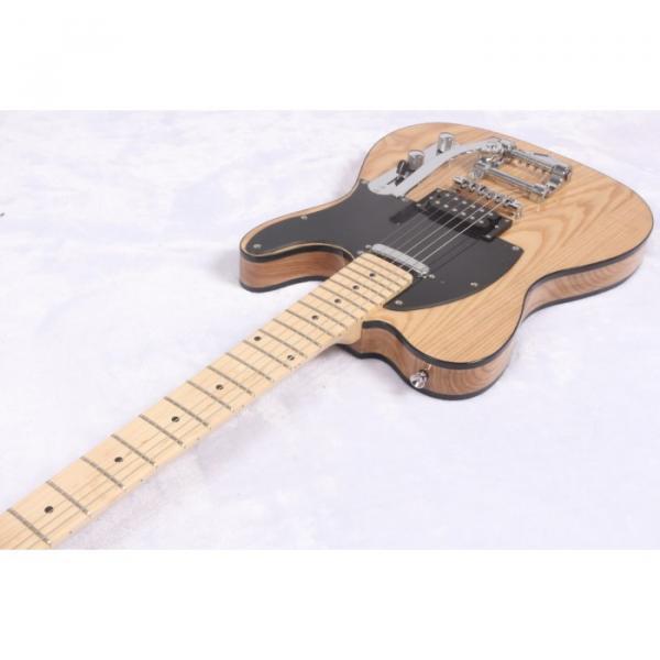 Custom Shop Telecaster Floyd Rose Tremolo Natural Electric Guitar #2 image