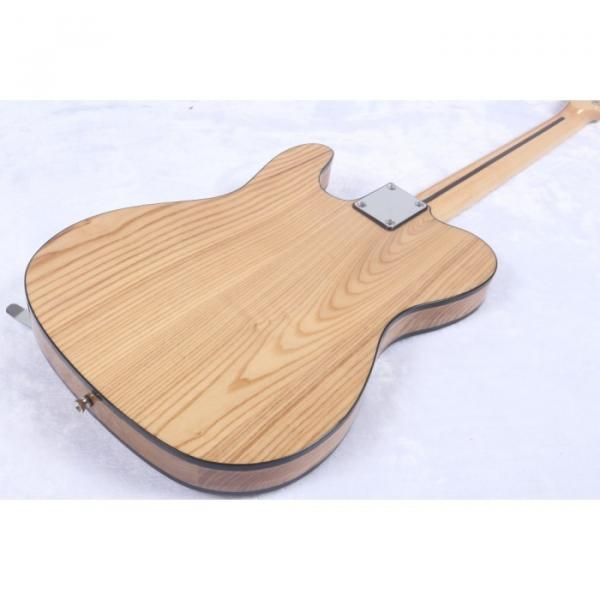 Custom Shop Telecaster Floyd Rose Tremolo Natural Electric Guitar #4 image