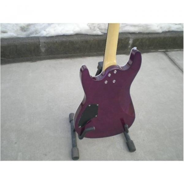 Custom Shop Suhr Quilt Maple Top Transparent Natural Fade Purple Electric Guitar #2 image