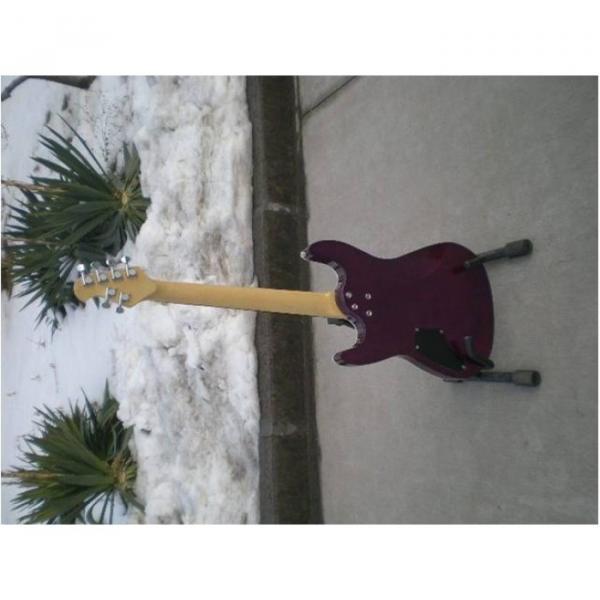 Custom Shop Suhr Quilt Maple Top Transparent Natural Fade Purple Electric Guitar #4 image