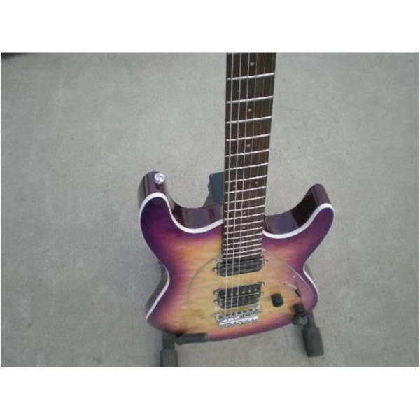 Custom Shop Suhr Quilt Maple Top Transparent Natural Fade Purple Electric Guitar #5 image