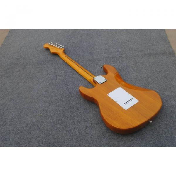 Custom Shop Stratocaster Natural Wood Grain Electric Guitar #2 image