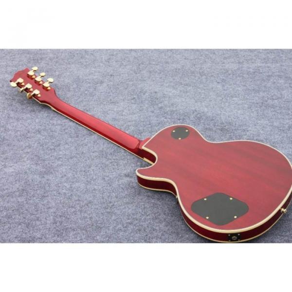 Custom Shop Standard Tiger Maple Top Red Wine Electric Guitar #2 image
