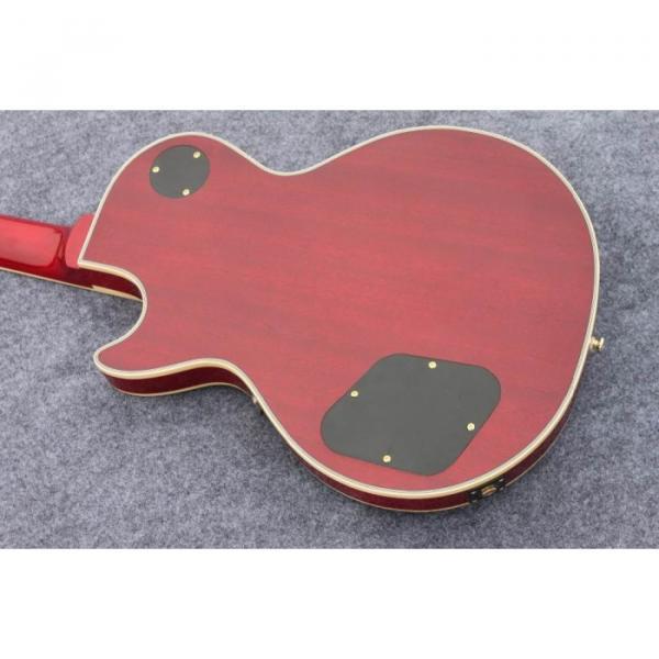 Custom Shop Standard Tiger Maple Top Red Wine Electric Guitar #3 image