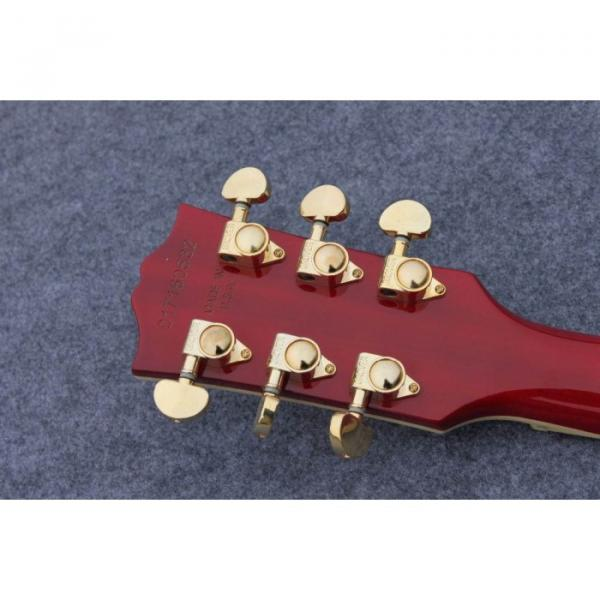 Custom Shop Standard Tiger Maple Top Red Wine Electric Guitar #5 image