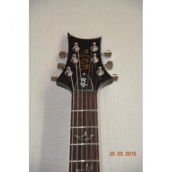 Custom Shop Silver Burst Tiger Maple Top PRS Electric Guitar #2 image
