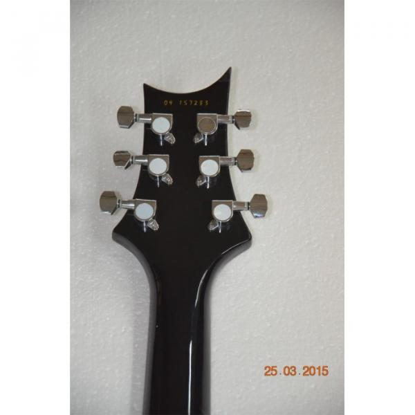 Custom Shop Silver Burst Tiger Maple Top PRS Electric Guitar #5 image