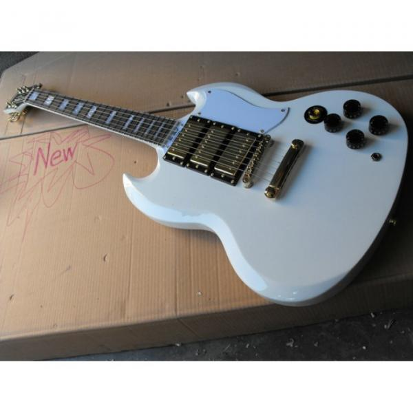 Custom Shop SG White Electric Guitar #1 image