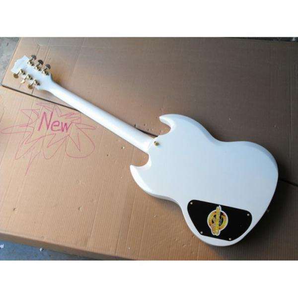 Custom Shop SG White Electric Guitar #3 image