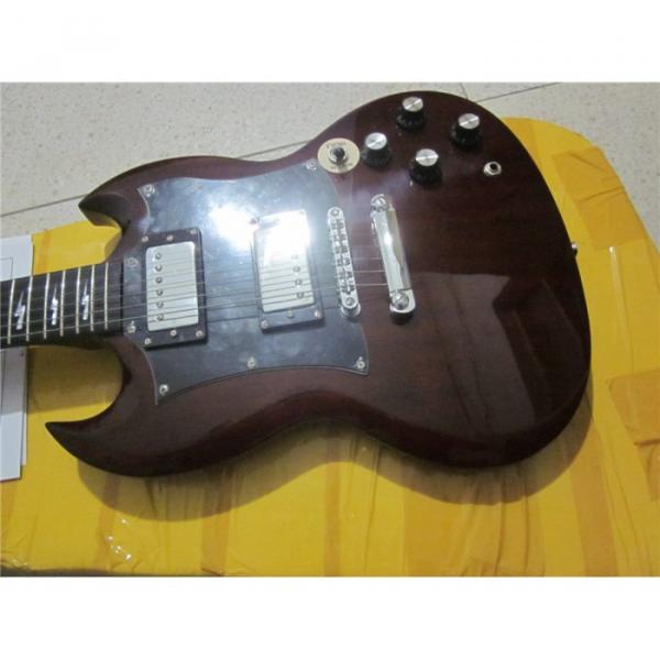 Custom Shop SG G400 Dark Brown Electric Guitar #1 image