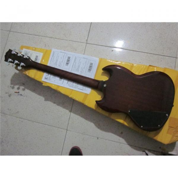 Custom Shop SG G400 Dark Brown Electric Guitar #2 image
