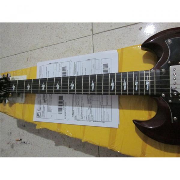 Custom Shop SG G400 Dark Brown Electric Guitar #3 image