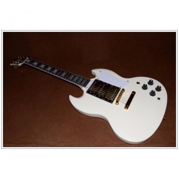 Custom Shop SG Custom Reissue VOS Electric Guitar Classic White #1 image
