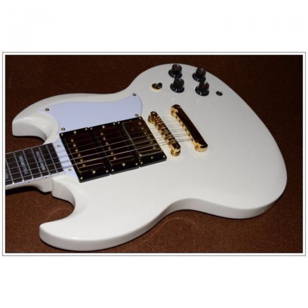Custom Shop SG Custom Reissue VOS Electric Guitar Classic White #3 image