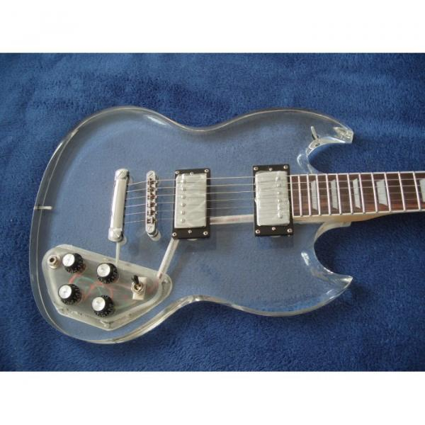 Custom Shop SG Acrylic Electric Guitar #1 image