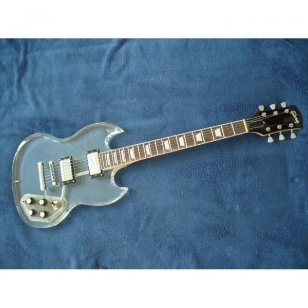 Custom Shop SG Acrylic Electric Guitar #3 image