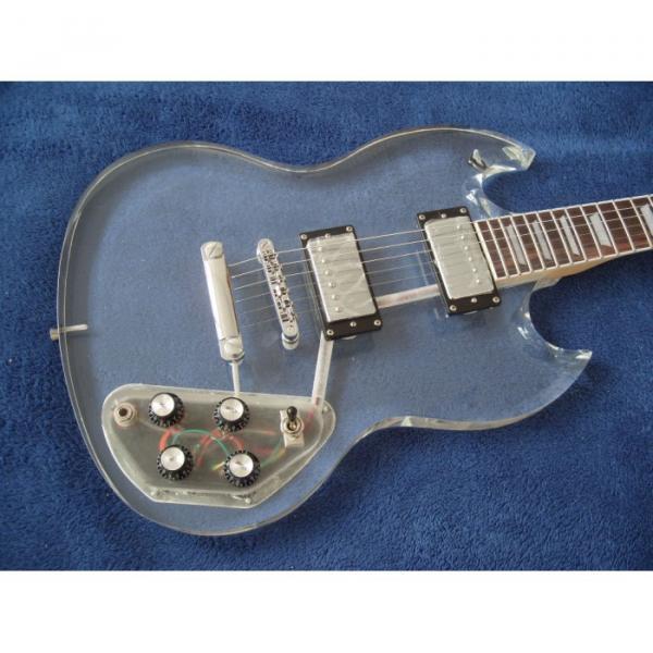Custom Shop SG Acrylic Electric Guitar #5 image