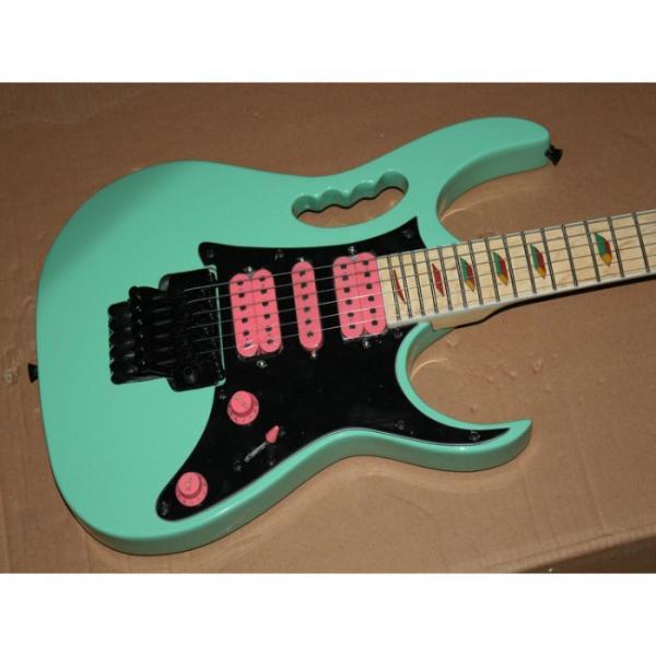 Custom Shop Sea Foam Green Ibanez Electric Guitar #1 image