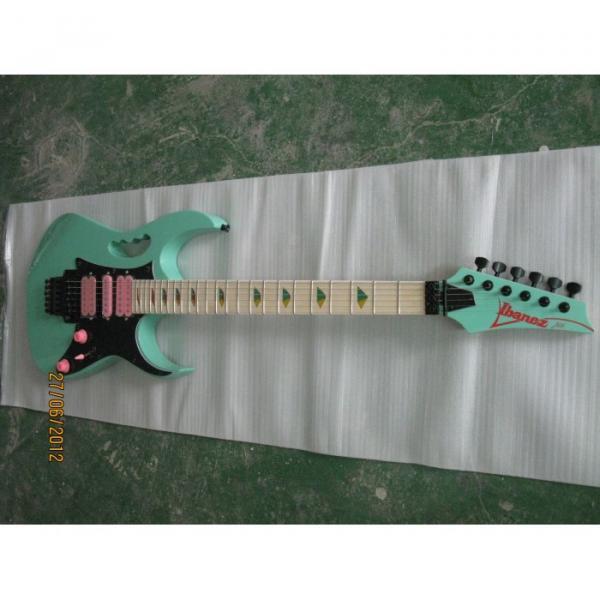 Custom Shop Sea Foam Green Ibanez Electric Guitar #5 image