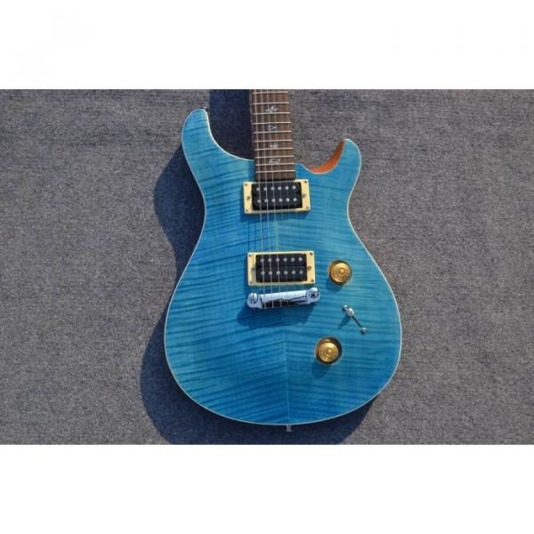 Custom Shop SE 22 Standard PRS Whale Blue Flame Top Electric Guitar #1 image