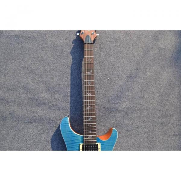 Custom Shop SE 22 Standard PRS Whale Blue Flame Top Electric Guitar #2 image