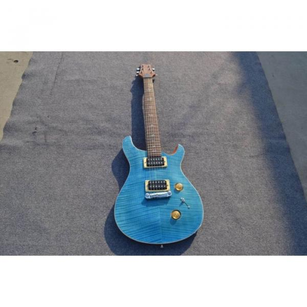 Custom Shop SE 22 Standard PRS Whale Blue Flame Top Electric Guitar #3 image