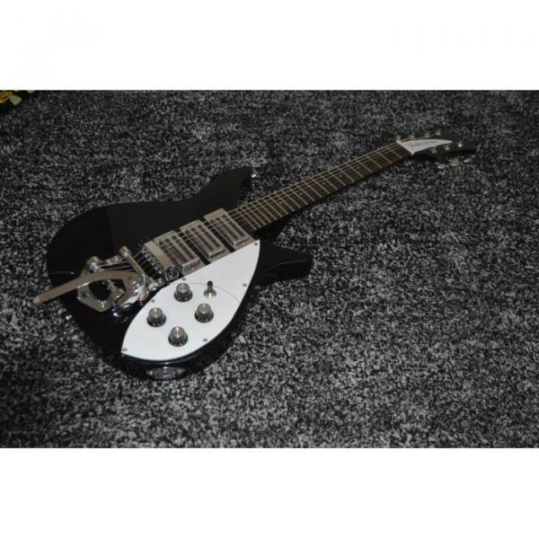 Custom Shop Rickenbacker 325 Jetglo Black 6 String Electric Guitar #1 image