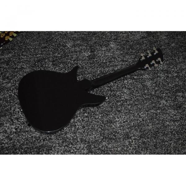 Custom Shop Rickenbacker 325 Jetglo Black 6 String Electric Guitar #3 image