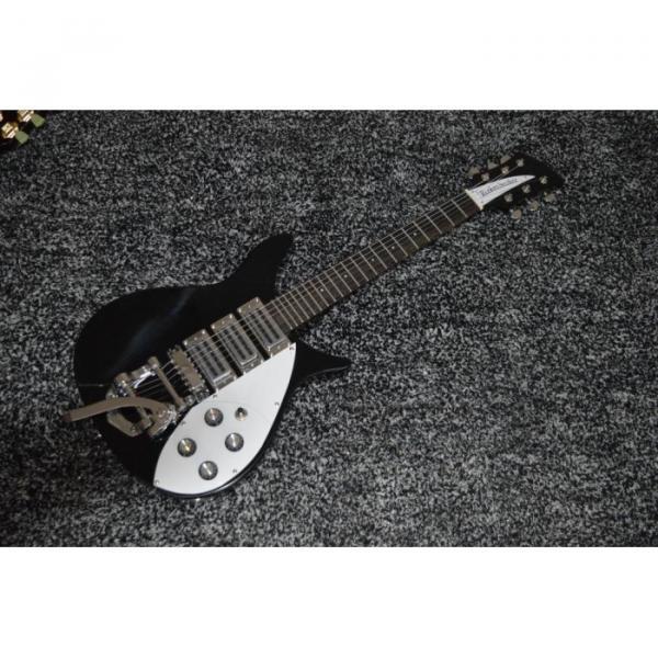 Custom Shop Rickenbacker 325 Jetglo Black 6 String Electric Guitar #5 image