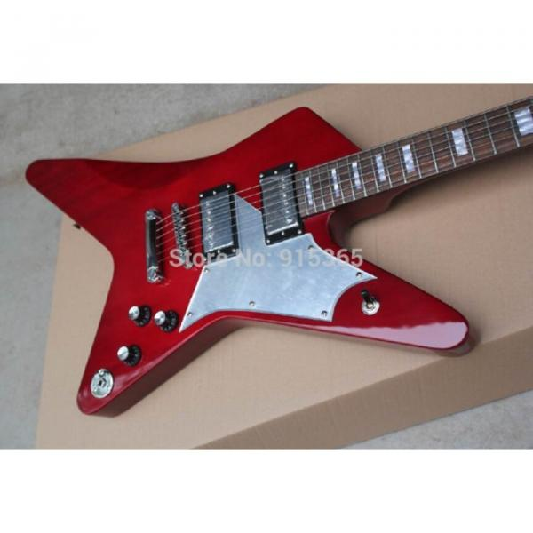 Custom Shop Red Crying Star ESP Electric Guitar #1 image
