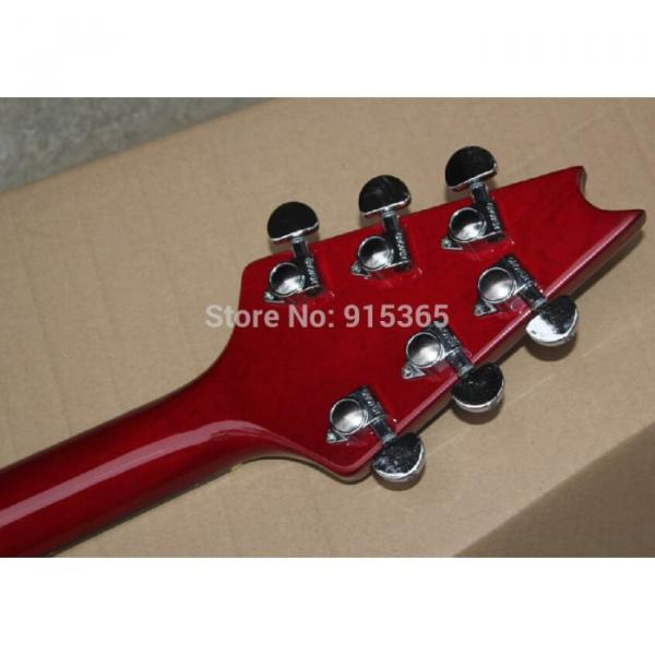 Custom Shop Red Crying Star ESP Electric Guitar #2 image