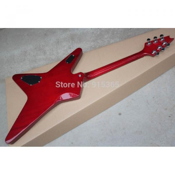 Custom Shop Red Crying Star ESP Electric Guitar #5 image