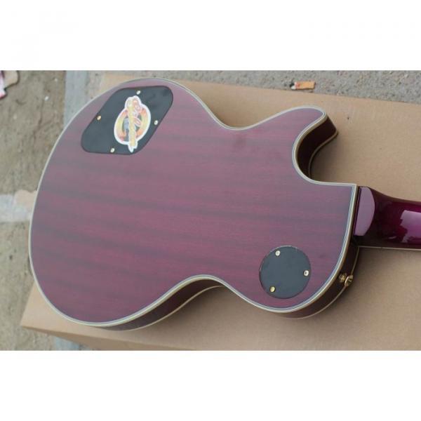 Custom Shop Purple Electric Guitar With Free Hardcase #5 image