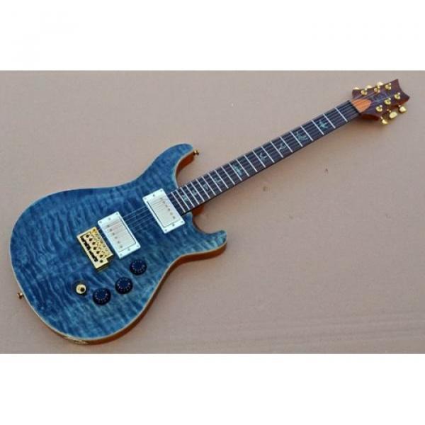 Custom Shop PRS Quilt Flame Electric Guitar #1 image