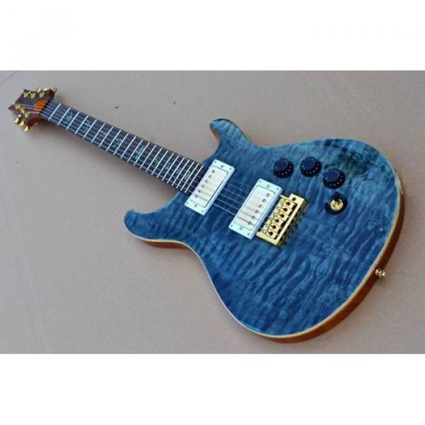 Custom Shop PRS Quilt Flame Electric Guitar #2 image