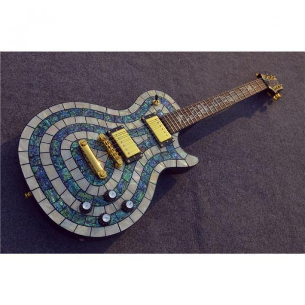 Custom Shop PRS Dragon Mother of Pearl and Abalone Electric Guitar MOP #1 image