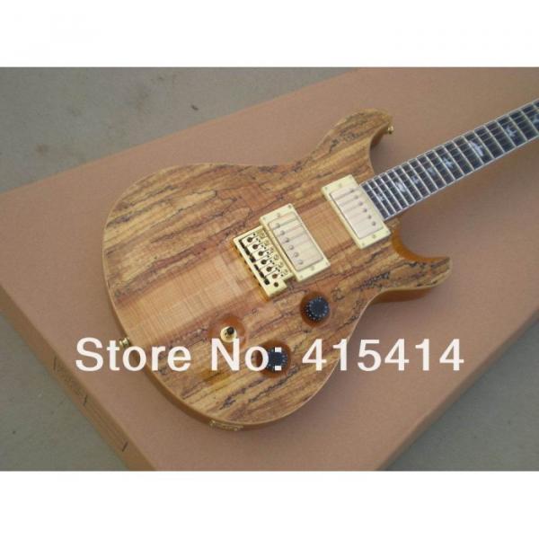 Custom Shop PRS Burlywood Natural Electric Guitar #1 image