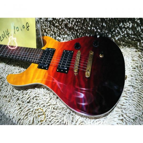 Custom Shop PRS 7 String Prism Flame Maple Top Electric Guitar #1 image
