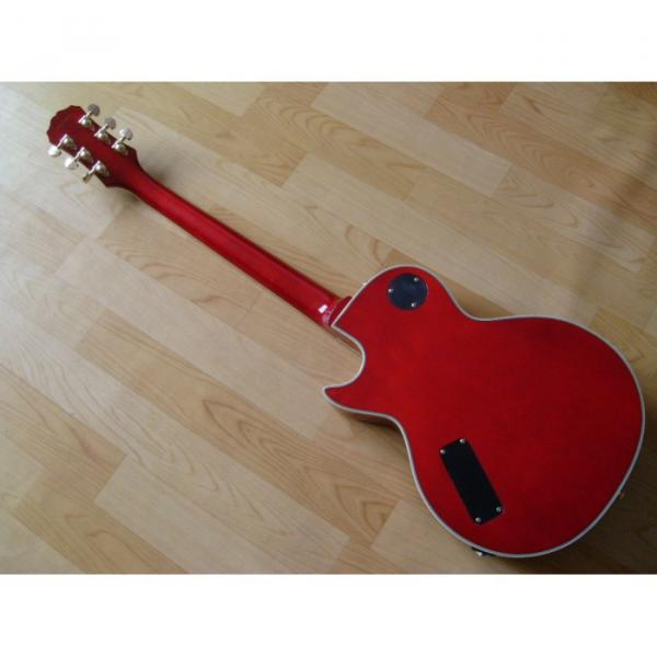 Custom Shop Prophecy Quilted Cherry Red Maple Electric Guitar #3 image