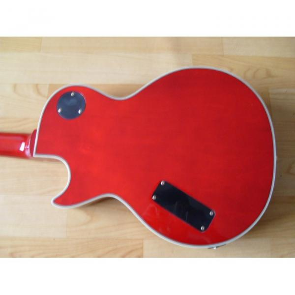 Custom Shop Prophecy Quilted Cherry Red Maple Electric Guitar #4 image