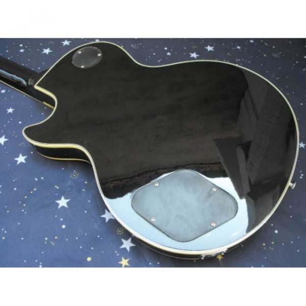 Custom Shop Playboy Fretboard Inlay Black Electric Guitar #2 image