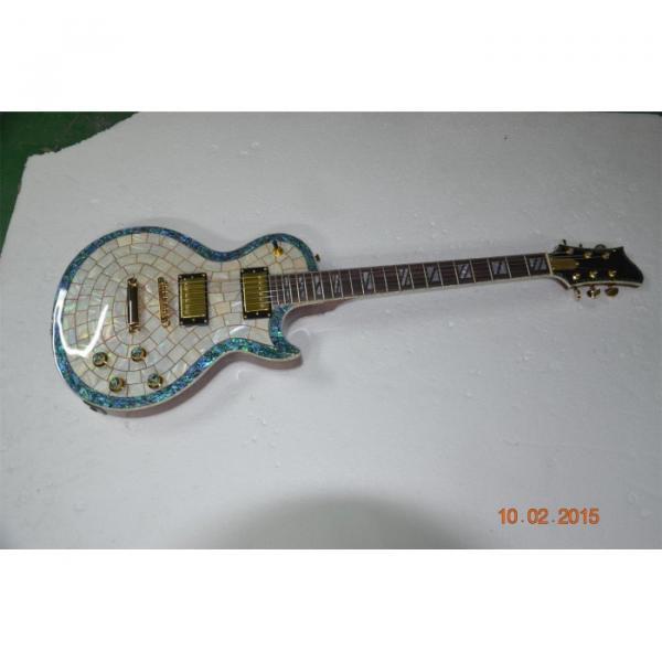 Custom Shop Pearl Top Standard Electric Guitar #4 image