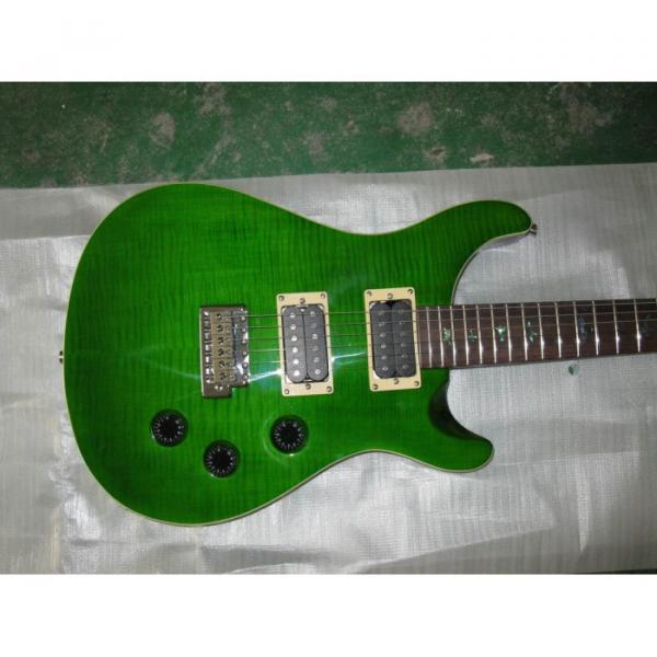 Custom Shop Paul Reed Smith Green Electric Guitar #1 image
