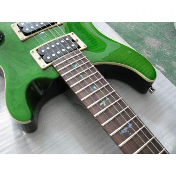 Custom Shop Paul Reed Smith Green Electric Guitar #5 image